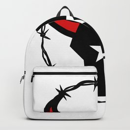 Texas Longhorn Barbed Wire Icon Backpack