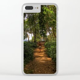 Magic Jungles of Puerto Viejo Clear iPhone Case