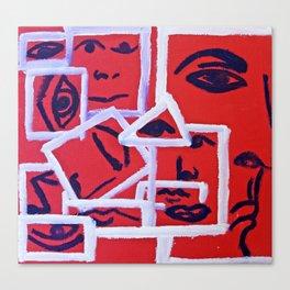 Pieces 1 Canvas Print