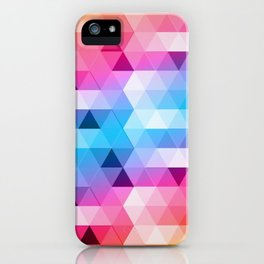 Perspectiva de colores iPhone Case