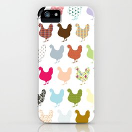 United Chicks iPhone Case