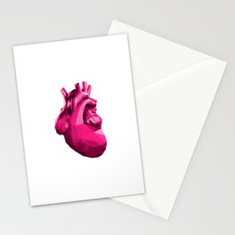Heart - Pink Stationery Cards