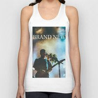 brand new Tank Tops featuring Brand New by ICANWASHAWAY