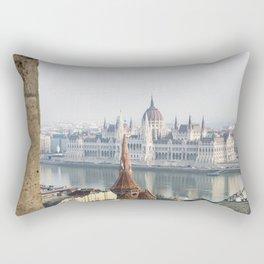 The Parliament Building. Rectangular Pillow