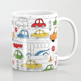 Busy Traffic Pattern Coffee Mug