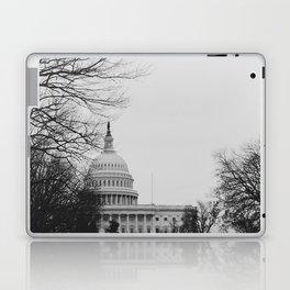 US Capitol Shrouded In Winter Gloom Laptop & iPad Skin