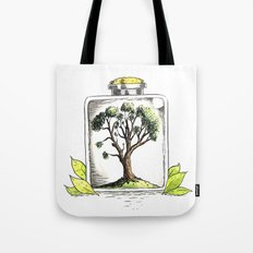 Nature on Display Tote Bag