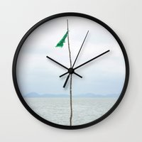 cracked Wall Clocks featuring Cracked by Souan Club