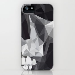Geometric Skull iPhone Case