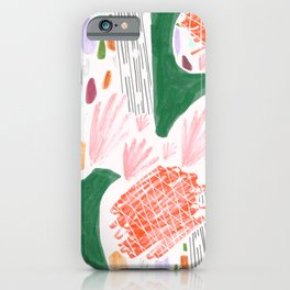 Seeing Spaces - White iPhone Case