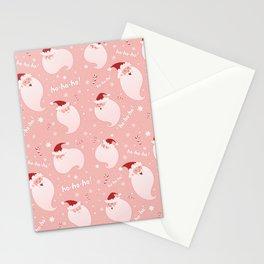 Jolly Santa Stationery Cards