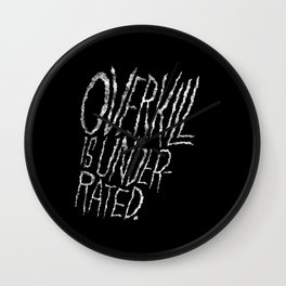 Overkill is Underrated. Wall Clock