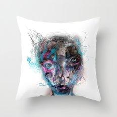 grotesque/3 Throw Pillow