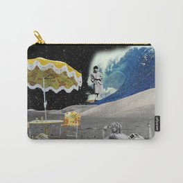 perfect day for moon surfing Carry-All Pouch