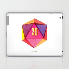 Rolling D20's Like A Big Shot  Laptop & iPad Skin