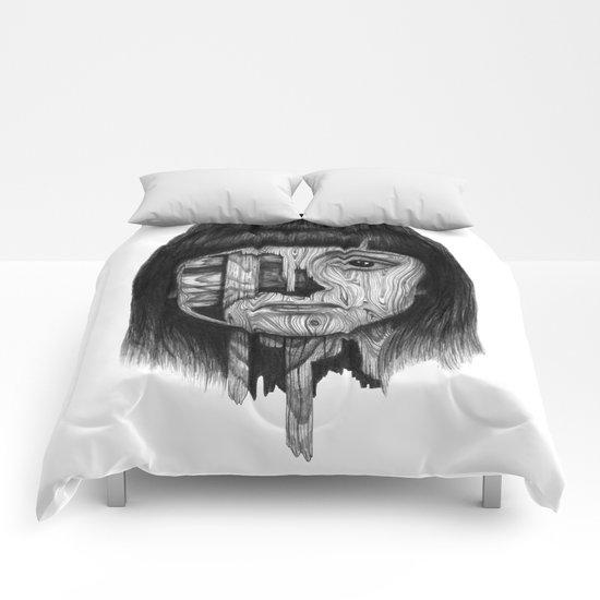 Wood Girl Comforters