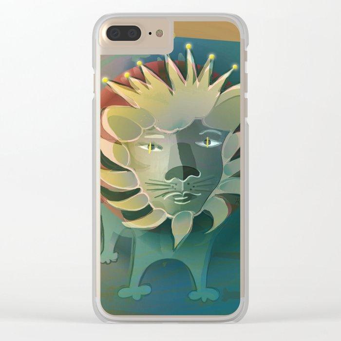 Leo / Zodiac Clear iPhone Case
