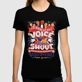 Raise Your Voice T-shirt