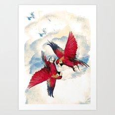 Chronicles of Avo and Devon Sangers Art Print
