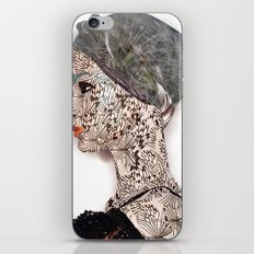 butterfly woman iPhone & iPod Skin
