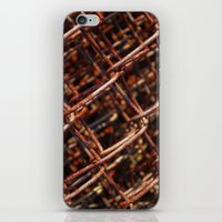 the wire iPhone & iPod Skins featuring wire by Seed Margarita