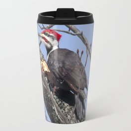 Pileated Woodpecker Travel Mug