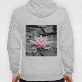 Pink Lotus Flower Waterlily Hoody