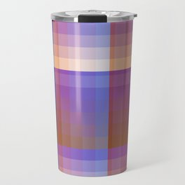 Complimentary Color Harmony ..Blue/orange Travel Mug