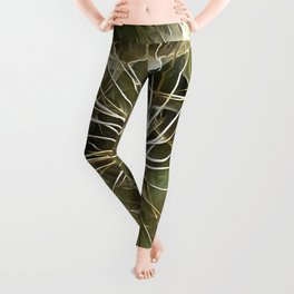 Tragopogon Wildflower Salsify Leggings
