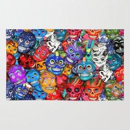 Calaveras Pequeñas - Little Sugar Skulls Rug