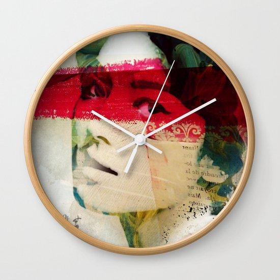 Saigon Sally Wall Clock