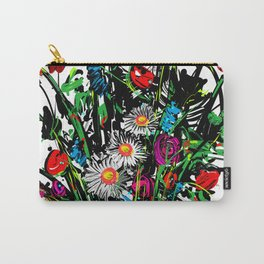 WF#3 Wild Flower #3 Carry-All Pouch