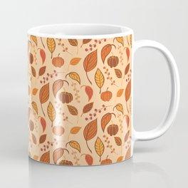 Leaves and pumpkins Coffee Mug