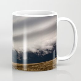 Perspective - View Within Supercell Thunderstorm in Kansas Coffee Mug