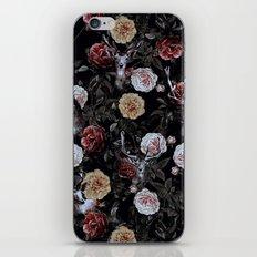 Deers and Flowers iPhone Skin