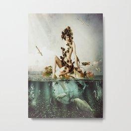 Hobbie Sea Metal Print