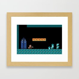 The Doctor Visits World 1-2 Framed Art Print