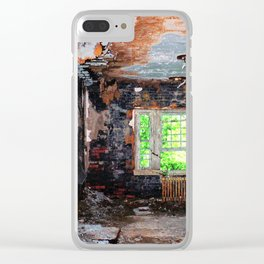 The Bones of Memory Clear iPhone Case
