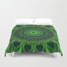 Green and Serene Duvet Cover