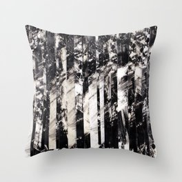 Catatonic Leisure at 1000 MPH Throw Pillow