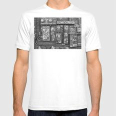 New Orleans - Frenchmen Street Graffiti Mens Fitted Tee White MEDIUM