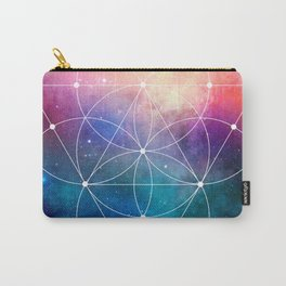 Sacred Geometry Universe Carry-All Pouch