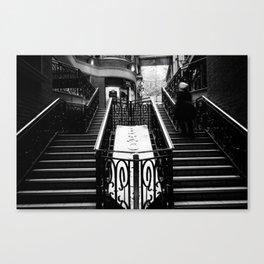 Stairway motion Canvas Print