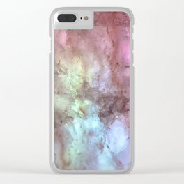 Lights & Minerals Clear iPhone Case