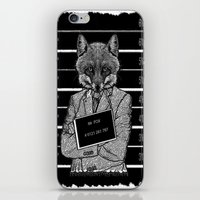 mr fox iPhone & iPod Skins featuring Mr fox.. by ZefxisJR281