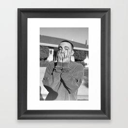 Mac Miller Rapper Hip Hop Framed Art Print