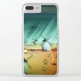 Glorious Days Clear iPhone Case