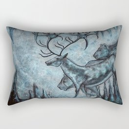 Crystal Cavern Procession Rectangular Pillow