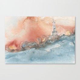 Storm at North Manitou Island Shoal Canvas Print