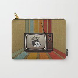 fallout Dismay cartoon on vintage tv Carry-All Pouch